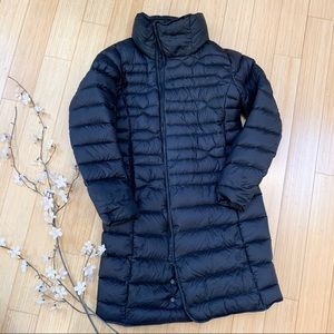The North Face Jackets & Coats - The NORTH FACE long black down puffer coat, M.